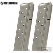"Metalform 1911 9mm 9 Round MAGAZINE 2-PACK + PADS (""Z"" Marked) 9793"