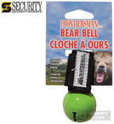 Frontiersman BEAR BELL Magnetic Silencer GREEN BB01GN