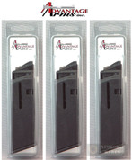Advantage Arms CONVERSION MAGAZINE 3-PACK 22LR 10 Round Glock 20 21 AACLE2021