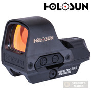 Holosun SIGHT Open Reflex Circle Dot SOLAR / BATTERY QD HS510C