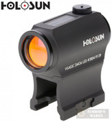 HOLOSUN SIGHT Micro Red Dot Solar / Battery 2 MOA Hi/Low Mount HS403C