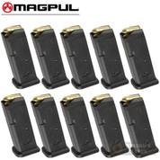MAGPUL 10 GL9 GLOCK 19 26 9mm 10 Round MAGAZINE 10-PACK MAG907-BLK