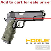 HOGUE 1911 Colt Government Laser SIGHT GRIP 45081 OD Green - Add to cart for sale price!