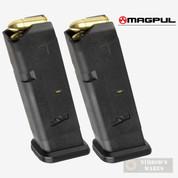 MAGPUL 10 GL9-G17 GLOCK 9mm 10 Round MAGAZINE 2-PACK MAG801-BLK