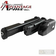 Advantage Arms GLOCK 17 22 GEN 5 Conversion KIT + Range Bag AAC17-22G5