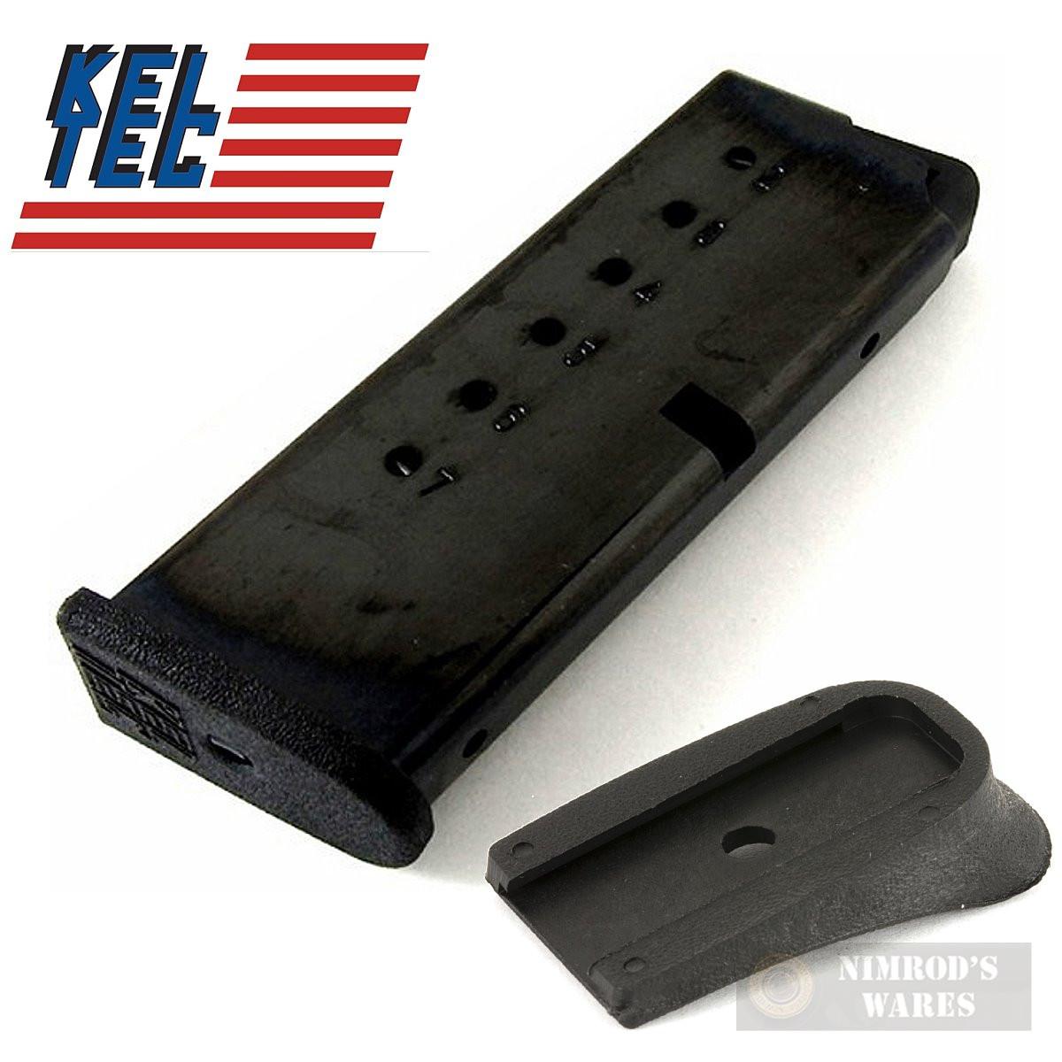 Kel-Tec PF9 PF-9 9mm 7 Round MAGAZINE + Grip Extension PF9-498 PF9-492