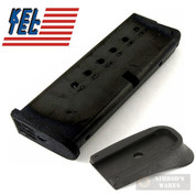 Kel-Tec PF9 PF-9 9mm 7 Round MAGAZINE + Grip Extension PF9-498 PF9-492