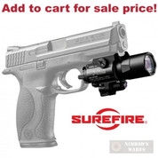 Surefire X400 Ultra WEAPONLIGHT w/ LASER 600 Lumens X400U-A-RD - Add to cart for sale price!