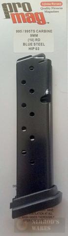 ProMag HIP03 HI-POINT 995 995TS 9mm 10 Round Magazine
