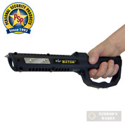 PS ZAP Baton Stun Gun + FlashLight 1 Million Volts Rechargeable ZAPBATON
