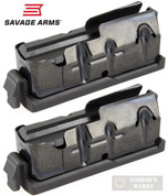 Savage AXIS Trophy Hunter 11/111 MAGAZINE 2-PACK .25-06 .270 .30-06 55233