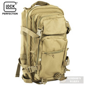 GLOCK MultiPurpose BACKPACK Range Bag w/ Holster COYOTE AS02001