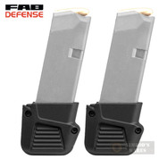 FAB Defense GLOCK 43 G43 PLUS 4 Mag EXTENSION 2-PACK FX-4310B