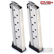 Chip McCormick 1911 9mm 10 Round MAGAZINE 2-PACK Range PRO M-RP-9FS10