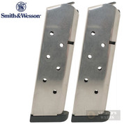 S&W Smith & Wesson 1911 SW1911 .45 ACP 8 Round MAGAZINE 2-PACK 19110