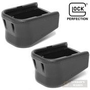 Glock PLUS TWO Magazine Extension 2-PACK w/o Pads 9mm .40 .357SIG SP07151