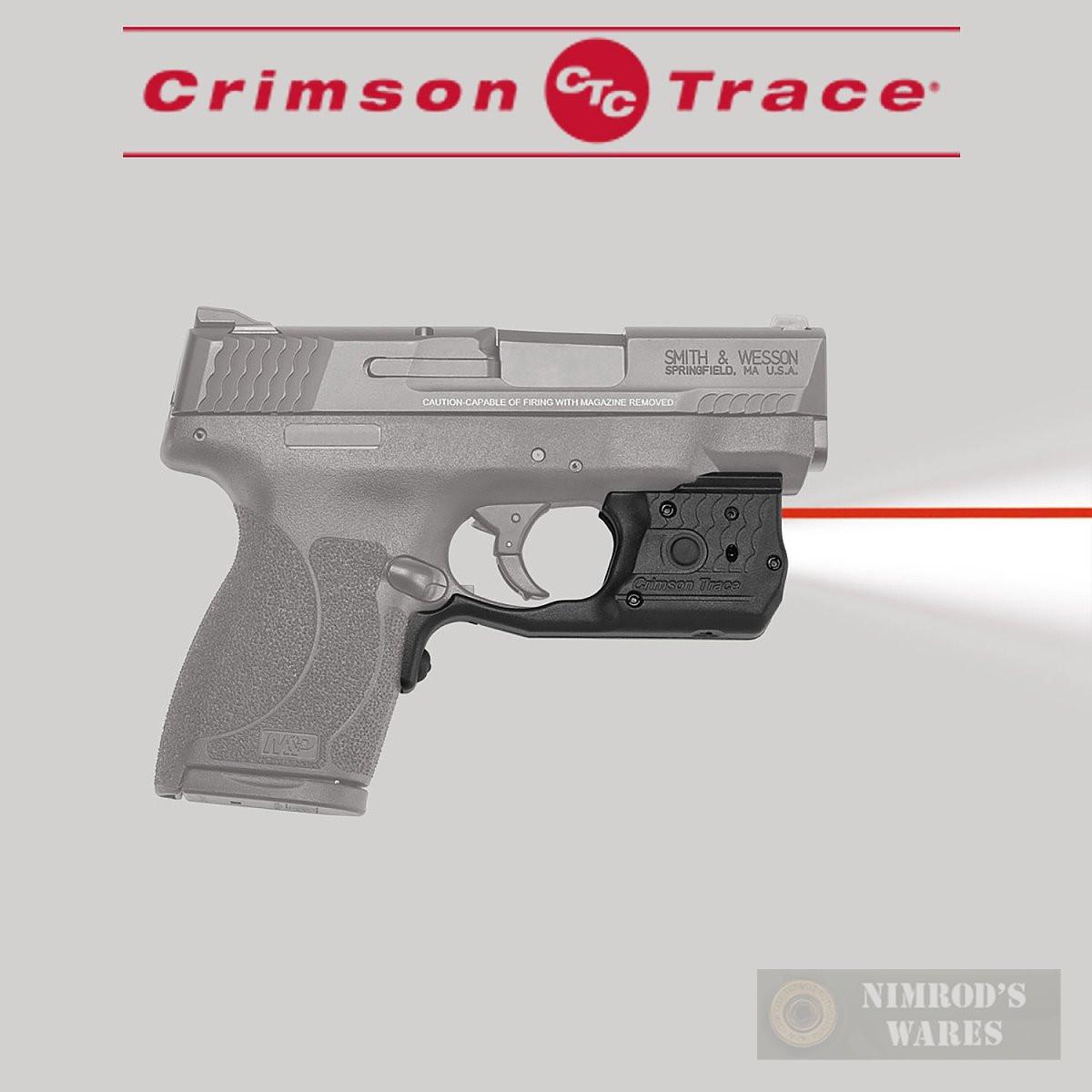 Crimson Trace S&W M&P SHIELD  45ACP Laser SIGHT & LIGHT LL-808