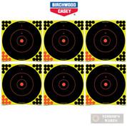 """Birchwood 34022 Shoot-N-C 12"""" TARGET X 72Pk w/ 1728 Pasters"""