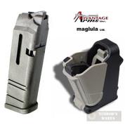 Advantage Arms CONVERSION MAGAZINE 22LR 10 Round Glock 17 22 + LULA LOADER AACLE1722 24224