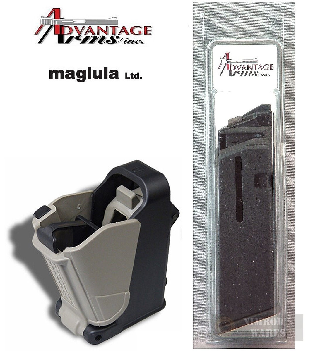 Advantage Arms 22LR 10 Round Magazine for Glock Conversion 19 23 AACLE1923