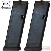 GLOCK 19 G19 9mm 10 Round MAGAZINE 2-PACK Bulk 10119