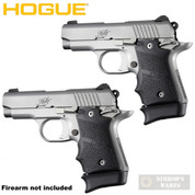 Hogue KIMBER MICRO 9 Extended BASE PAD 2-PACK for 7-rd Magazine Rubber 39030