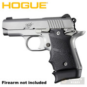 Hogue KIMBER Micro 9 GRIP Finger Grooves Ambi + Extended BASE PAD for 7-rd Magazine 39080 39030