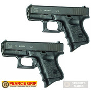 Pearce Grip GLOCK 26 27 33 39 Grip EXTENSION 2-PACK PG-26