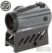 Sig Sauer Romeo4M SIGHT 1x20mm 2 MOA Red Dot SOR41301