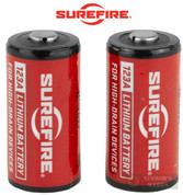 SUREFIRE SF123A CR123A BATTERIES 2-PK SF2-CB