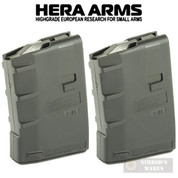 HERA H1 Gen 2 AR-15 M4 Magazine 2-PACK 5.56 .223 10 ROUNDS 13.13.B