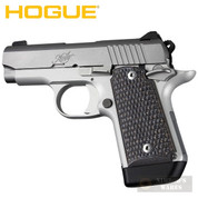 Hogue Kimber MICRO 9 Grip Panels Piranha G-Mascus G10 Blk/Gry 39127 - Add to cart for sale price!