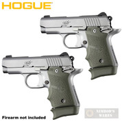 Hogue KIMBER MICRO 9 Extended BASE PAD 2-PACK for 7rd Mag Rubber 39031 OD