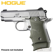 Hogue KIMBER Micro 9 GRIP Finger Grooves Ambi + Extended BASE PAD for 7-rd Magazine ODG 39081 39031