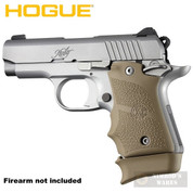 Hogue KIMBER Micro 9 GRIP Finger Grooves Ambi + Extended BASE PAD for 7-rd Magazine FDE 39083 39033