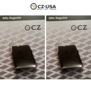 CZ 455 Rifle Magazine 2-PACK 22WMR 5 rounds 12010