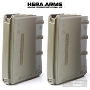 HERA H1 Gen 2 AR-15 M4 Magazine 2-PACK 5.56 .223 10 ROUNDS 13.13.OD