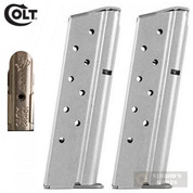 Colt 1911 Delta ELITE 10mm 8 Round MAGAZINE 2-PACK SS SP573421