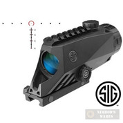 Sig Sauer BRAVO4 4x30mm BATTLE SIGHT 5.56 7.62 Wide Field Illuminated SOB44001