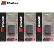 SAVAGE ARMS A17 17HMR 10 Round ROTARY Magazine 3-PACK OEM 90022