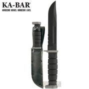 Ka-Bar D2 EXTREME KNIFE Fighting Utility LEATHER SHEATH 1283