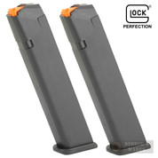 GLOCK 17 19 26 34 9mm 24 Round MAGAZINE 2-PACK BLACK 47464