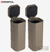 Magpul DAKA Storage CAN 2-PACK Glasses Tools Ammo MAG1028-FDE