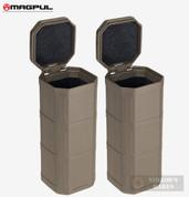 Magpul DAKA Storage CAN 2-PACK Glasses Tools Ammo MAG1028-FDE