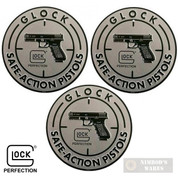 "GLOCK Safe Action SIGN 12"" Aluminum OEM AD00060 3-PACK"
