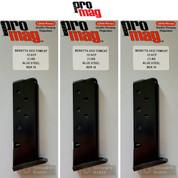 ProMag BERETTA 3032 Tomcat .32 ACP 7 Round MAGAZINE 3-PACK BER10