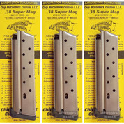 Chip McCormick 1911 XP .38 SUPER 10 Round Magazine 13111 3-PACK