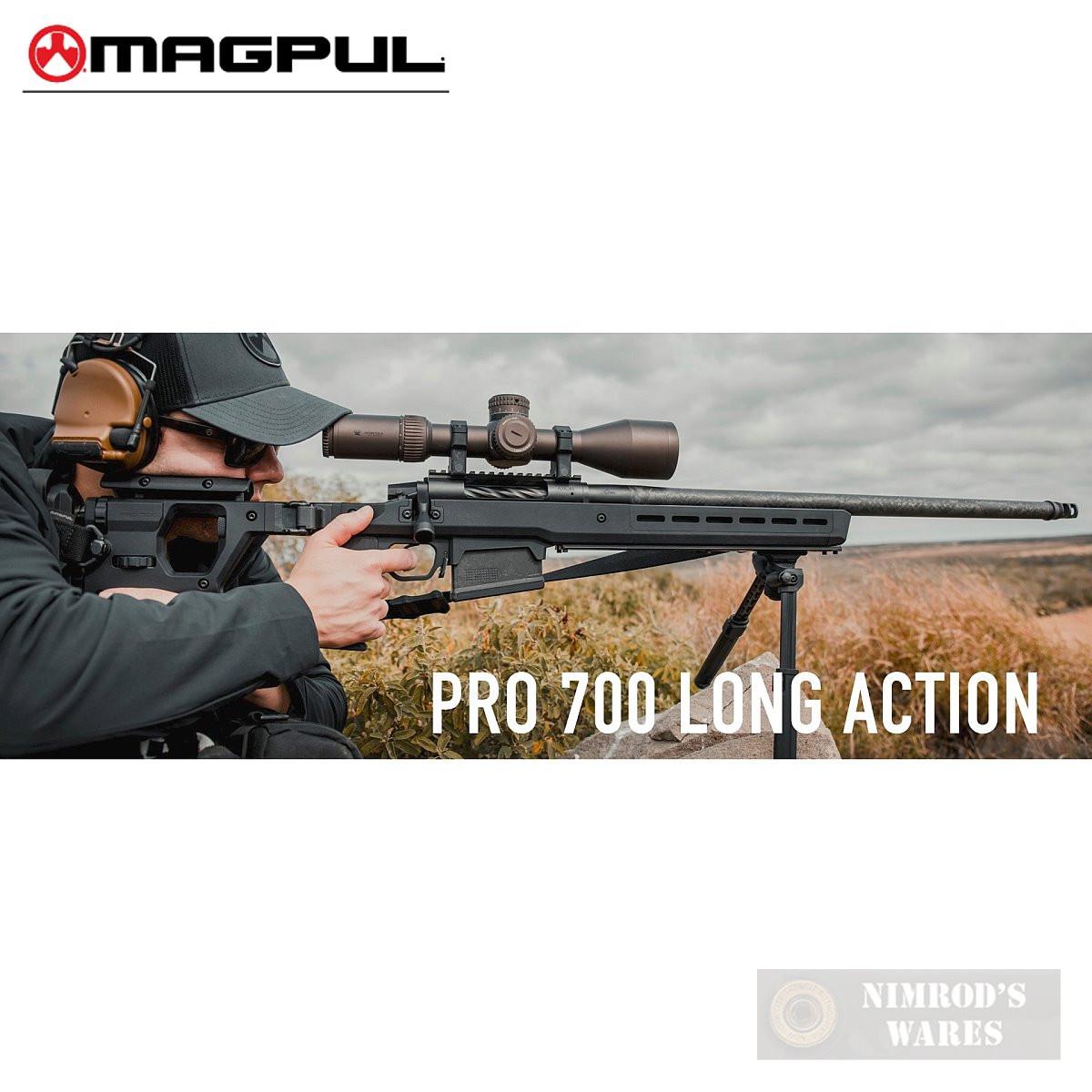 MAGPUL Pro 700L Remington 700 LA Stock Chassis FOLDING MAG1002-BLK
