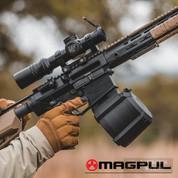 MAGPUL D-50 LR SR 7.62x51 NATO .308 Winchester 50 Round DRUM MAGAZINE SR25/M110 GEN M3 MAG993-BLK