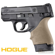 HOGUE S&W M&P Shield Ruger LC9 + MORE GRIP SLEEVE 18403 FDE